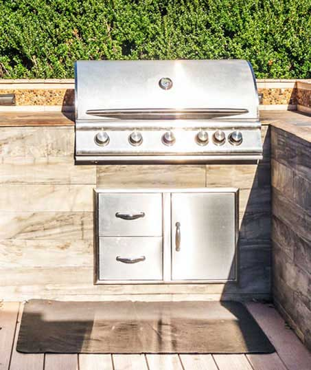 GLC Property Maintenance Services  Outdoor Kitchen Services