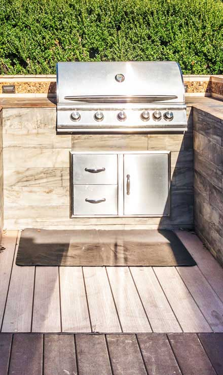 GLC Property Maintenance Services  Outdoor Kitchen